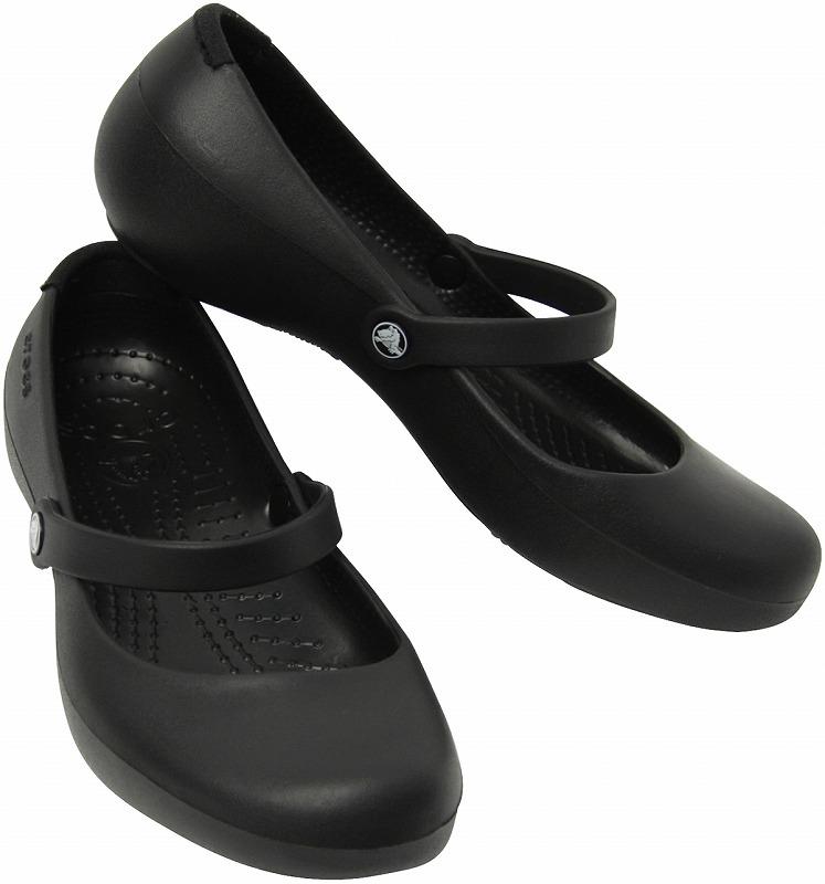 クロックス アリスワーク crocs alice work black(ブラック)
