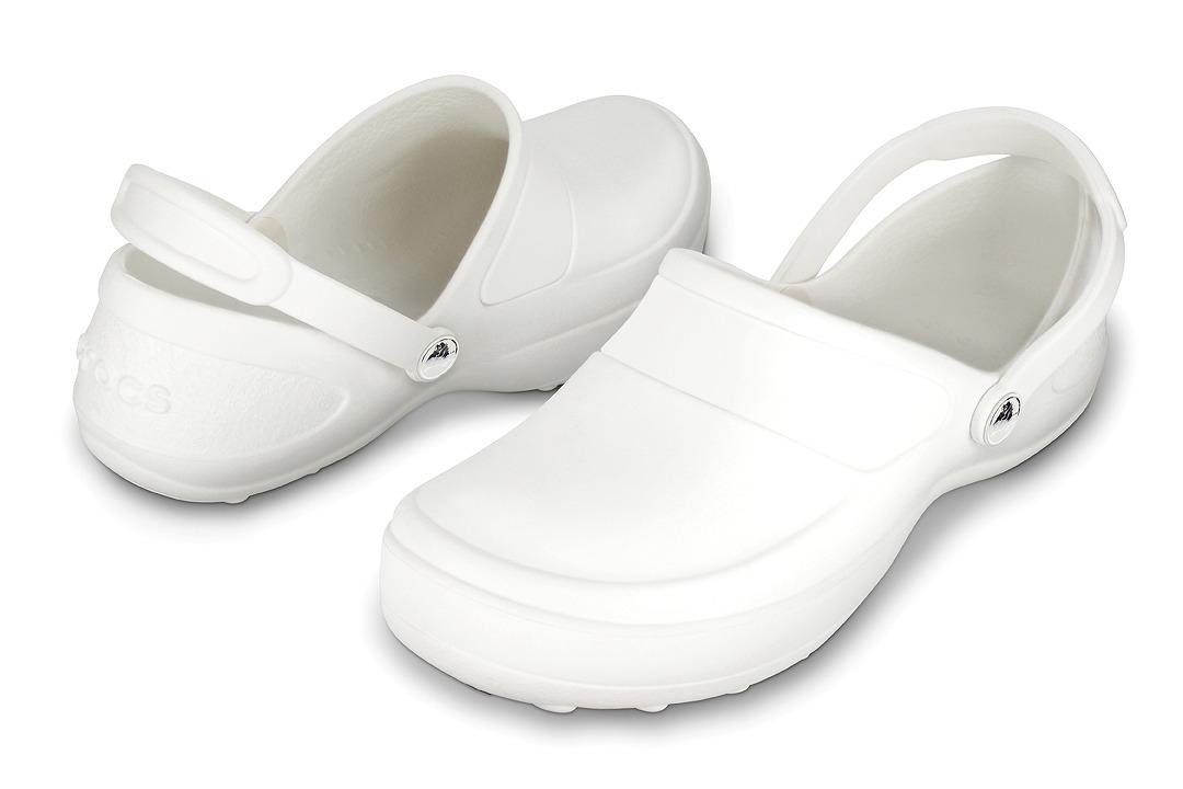 クロックス マーシーワーク ホワイト/ホワイト crocs mercy work white/white