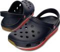 クロックス レトロ クロッグ ネイビー/レッド crocs retro clog navy/red