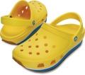 クロックス レトロ クロッグ イエロー/オーシャン crocs retro clog yellow/ocean
