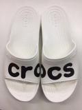 クロックス クラシック グラフィック スライド ホワイト  crocs classi graphic slide white