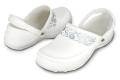 クロックス マーシーワーク crocs mercy work white/silver(ホワイト/シルバー)