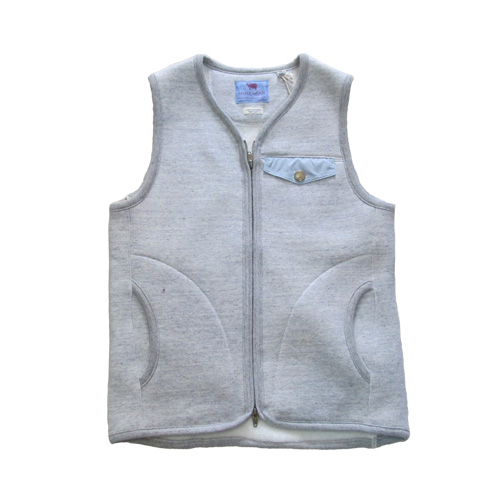 rulezpeeps (ルールズピープス)15RZ0053 SMILE WOOL  ZIP VEST