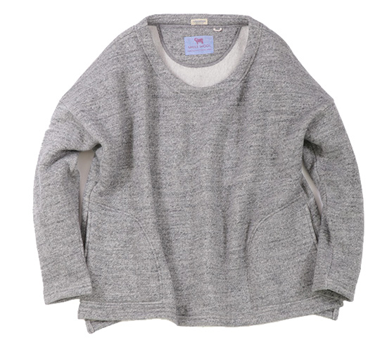 rulezpeeps (ルールズピープス) 16RZ0104 SMILE WOOL LADIES DOLMAN 10G