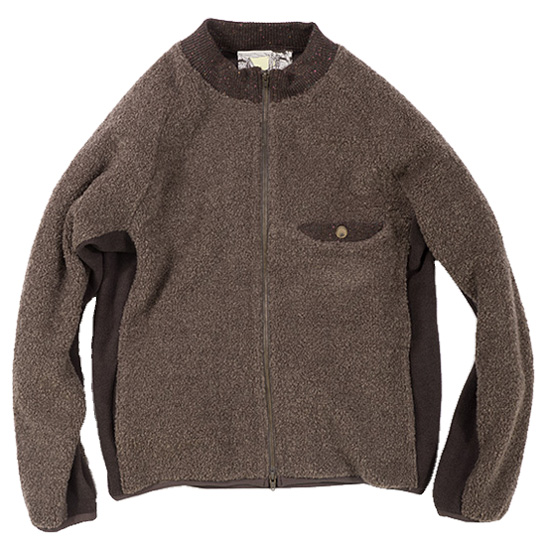 rulezpeeps (ルールズピープス)16RZ0110 Melange Boa Jacket