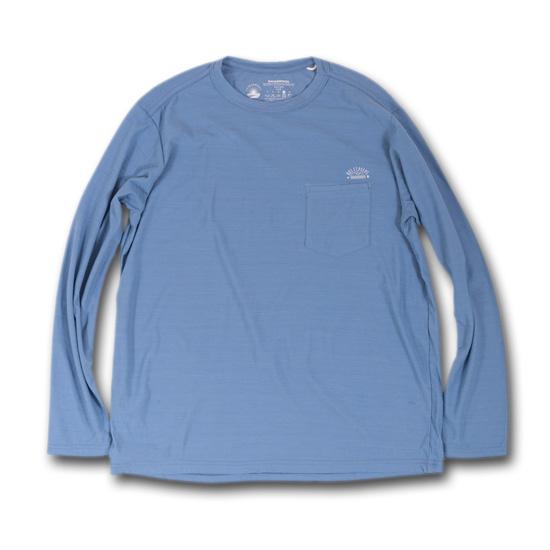 rulezpeeps (ルールズピープス) 17RZ0003 Smile Wool Long Sleeved Tee