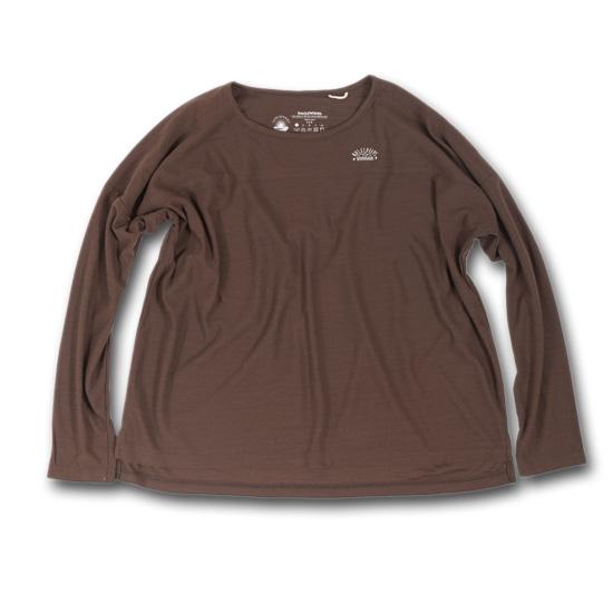 rulezpeeps (ルールズピープス) 17RZ0007 Smile Wool Long Sleeved LadiesTee