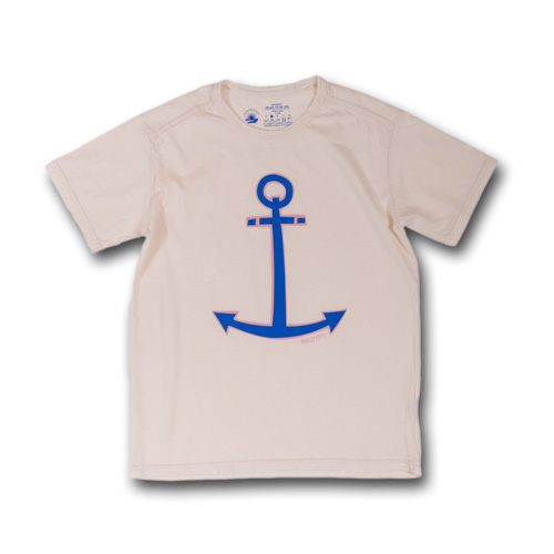 rulezpeeps (ルールズピープス) 17RZ0022 ORGANIC COTTON ANCHOR TEE