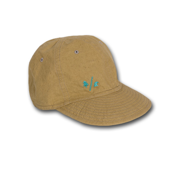 rulezpeeps (ルールズピープス) 17RZ0070 Organic Cotton Linen Reversible Cap