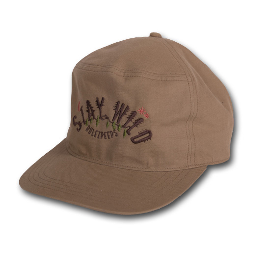 rulezpeeps (ルールズピープス) 17RZ0075 Organic Cotton STAY WILD Cap