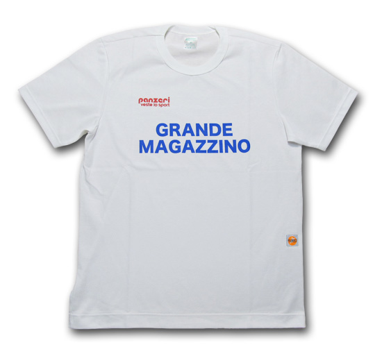 【クリックポスト】対応商品 panzeri (パンツェリ)GRANDE MAGAZZINO TEE