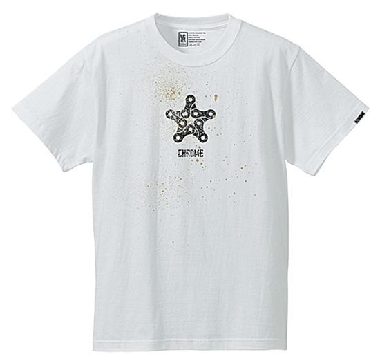 CHROME クローム STENCIL STAR TEE 【JP-042】