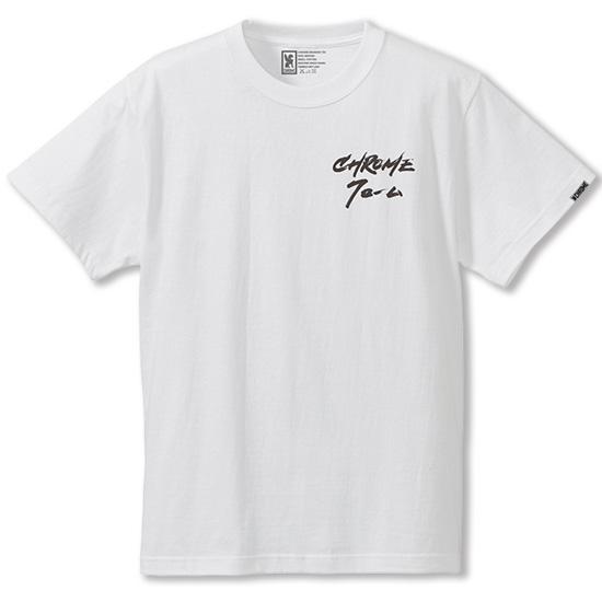 【クリックポスト】対応商品 CHROME クローム CALLIGRAPHER MAMI TEE(カリグラファー 万美 Tシャツ)【JP-110】