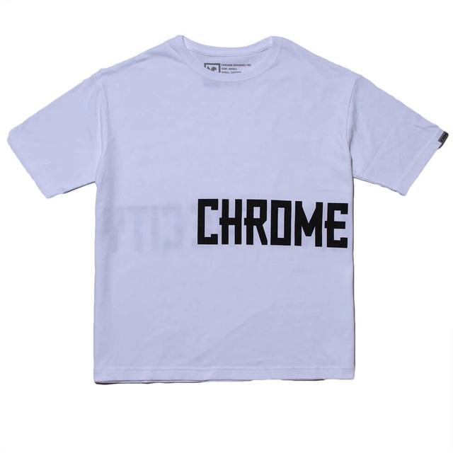 【クリックポスト】対応商品 CHROME クローム BIG SILHOUET TEE【JP-150】