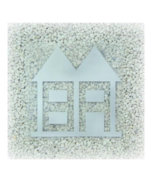 【クリックポスト】対応商品 inhabitant インハビタント XNB7913 HOUSE STICKER