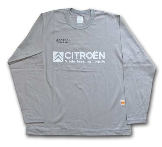 【クリックポスト】対応商品 panzeri (パンツェリ) CITROEN L/S TEE