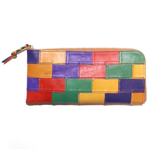 The Rosetta Stone ロゼッタストーン  M-WL-202 Mondrian L-Shape Long Wallet