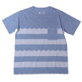 rulezpeeps (ルールズピープス) 16RZ0033 Organic Cotton Wave Border Tee