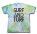 Bonzaipaint バンザイペイント SURF AND TURF  TEE