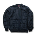 RICHLU wj011 Quilted Bomber Jacket