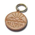 【クリックポスト】対応商品  rulezpeeps (ルールズピープス) 檜wood キーリング