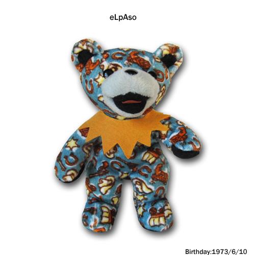 Greatful Dead BEAN BEAR (グレートフルデッド) ビーンベアー1200