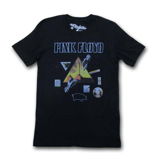 【クリックポスト】対応商品 WORNFREE (ウォーンフリー) PINK FLOYD FLOYD ALBUM TEE