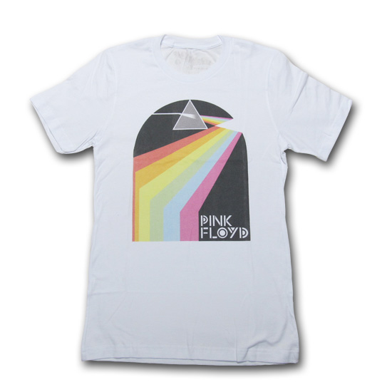WORNFREE (ウォーンフリー) PINK FLOYD DARK SIDE SPECTRUM TEE