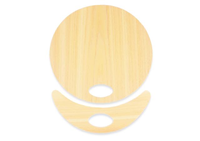 木製うちわパーツ
