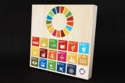 SDGsグッズ,木製盾
