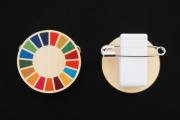 SDGsバッジ,木製グッズ