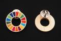 SDGs木製ピンバッジ