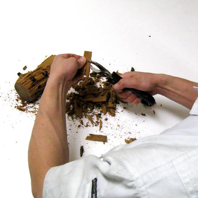 材割りペンチ
