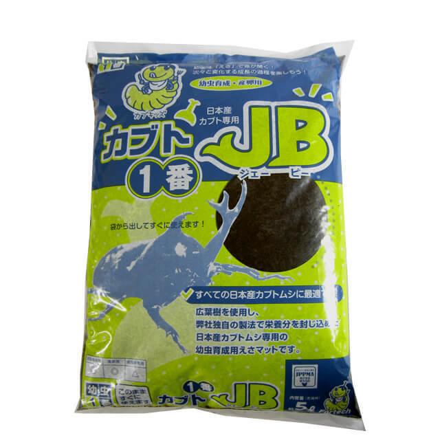 日本産カブト飼育マット カブト1番JB 5L