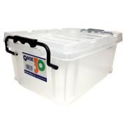 クワガタ・カブト飼育に 多目的バックルボックス「Q BOX-30」