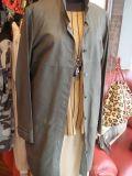 山羊革シャツ、チュニック、羽織