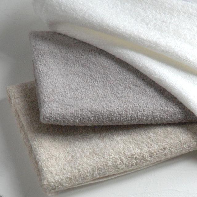 オリジナルタオル、『グラース』。ヨーロッパ産リネンを使用しています。上質で爽やかな感触です。