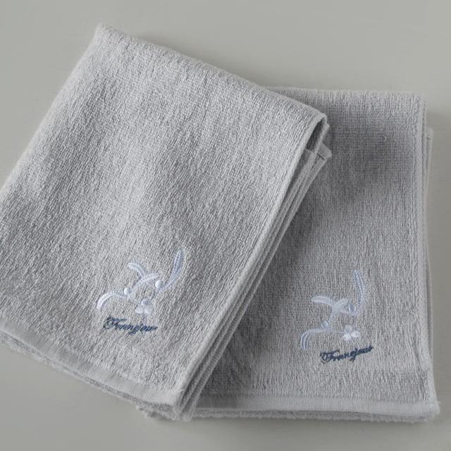 オリジナルタオル、『ヤドリギパイルリネン』。ヨーロッパ産リネンを使用しています。上質で爽やかな感触です。