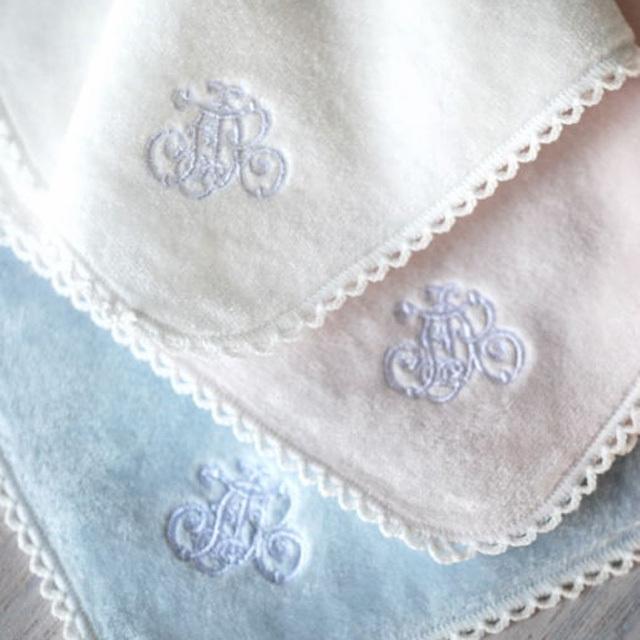 フランジュールの高級タオル、ドゥース。上質なリネンやコットンを使った美しいタオルです。