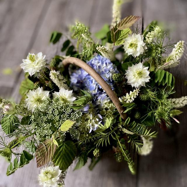 【予約販売】2021年6月20日(日)お届け アヴィニョンのりゅう KEIKO KOMOTO 紫陽花アレンジメント