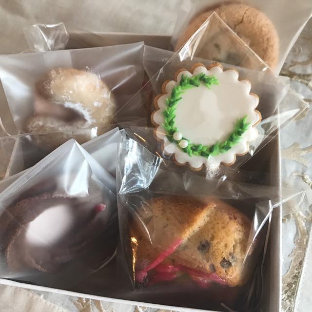 【 1回目 】 2017年12月9日 (土)発送分:HATANAKA CHIHIRO クリスマスクッキー&焼き菓子のアソートボックス( HC-002006 )