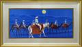 平山郁夫【アフガニスタンの砂漠を行く・月】