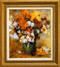 ルノアール【菊の花束】F10