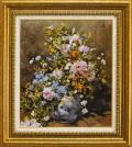ルノアール【大きな花瓶の花】F10
