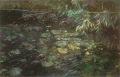 リャド ミニ版画 【緑の水辺】