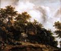 ロイスダール【ベントハイム城の見える風景】