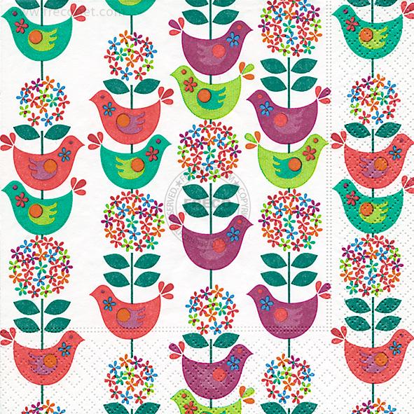 Paper+Design ペーパーナプキン <ランチ> Slavic pattern(200036)【宅急便配送】