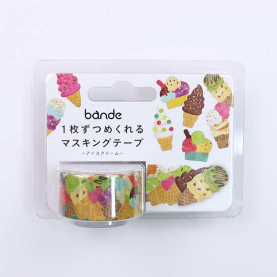 bande マスキングロールステッカー アイスクリーム(BDA 290)【宅急便配送】