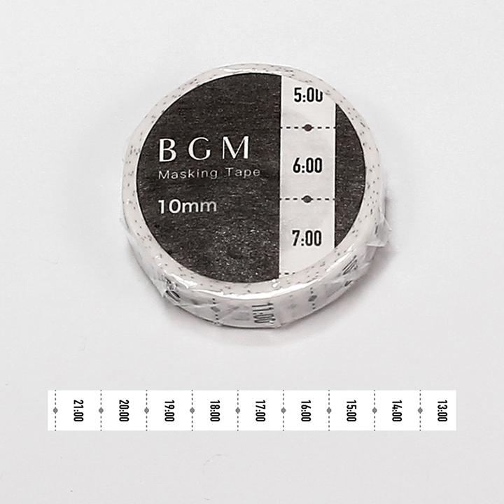 BGMマスキングテープ スペシャル ツカイ 日々・時刻(BM-SPT014)【ネコポスOK】