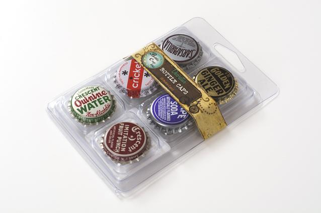 ボトルキャップ型ミール皿6個セット(BOT-009)【ネコポスOK】